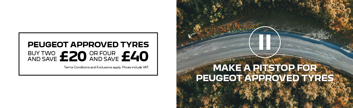 Peugeot Approved Tyres